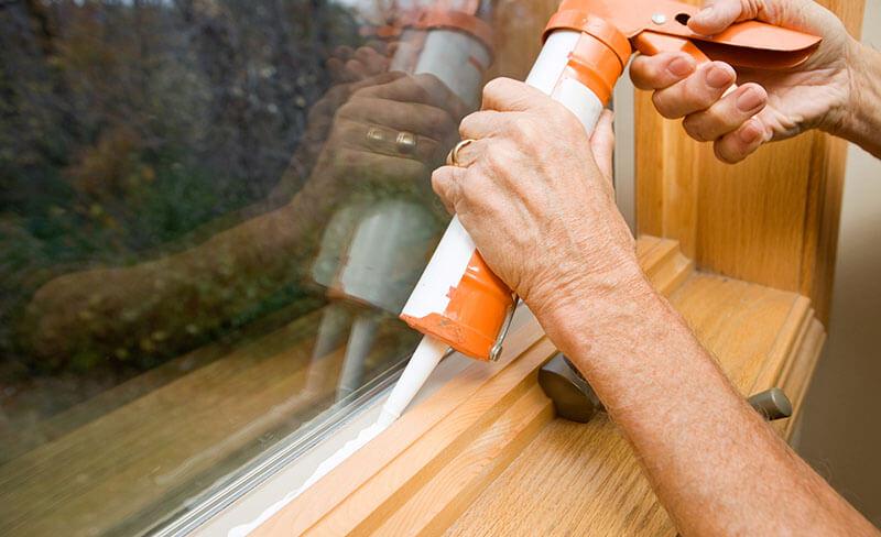 Installation fenêtre vitrée 91
